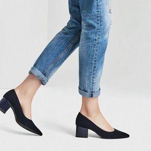 ZARA TRF Pointed Toe Block Heels
